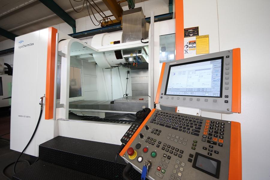 elettroerosione - centro di lavoro cnc a 3 assi micron vce 1600